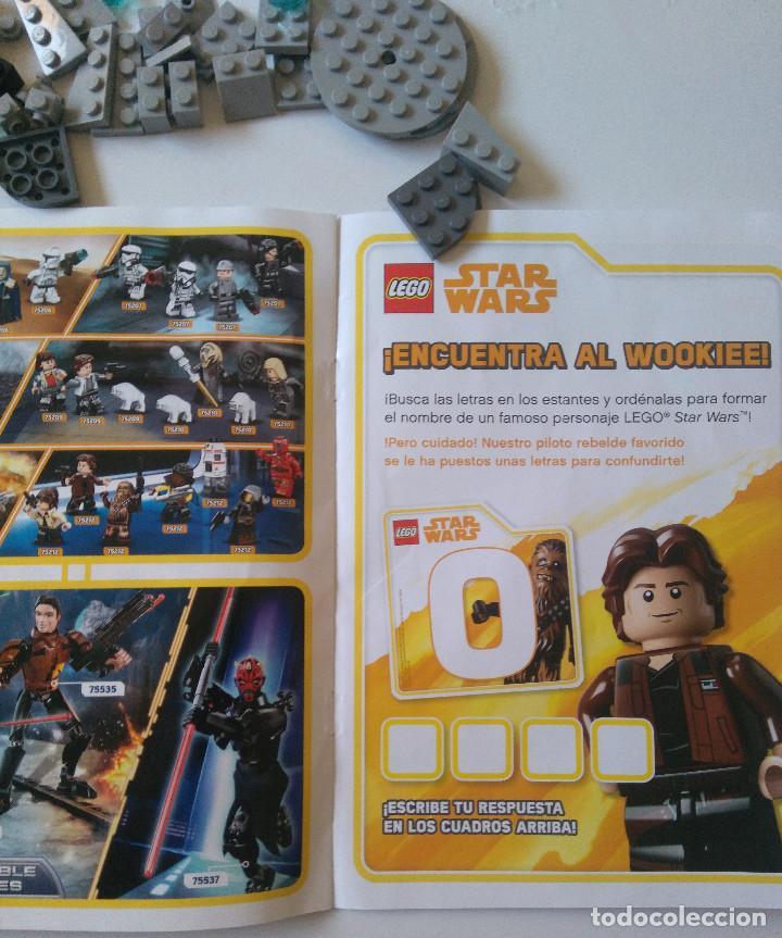 Juegos construcción - Lego: Star Wars Lego Halcon Milenario Toys R Us Exclusivo limitado millenium falcon 44 piezas promocional - Foto 4 - 194589481