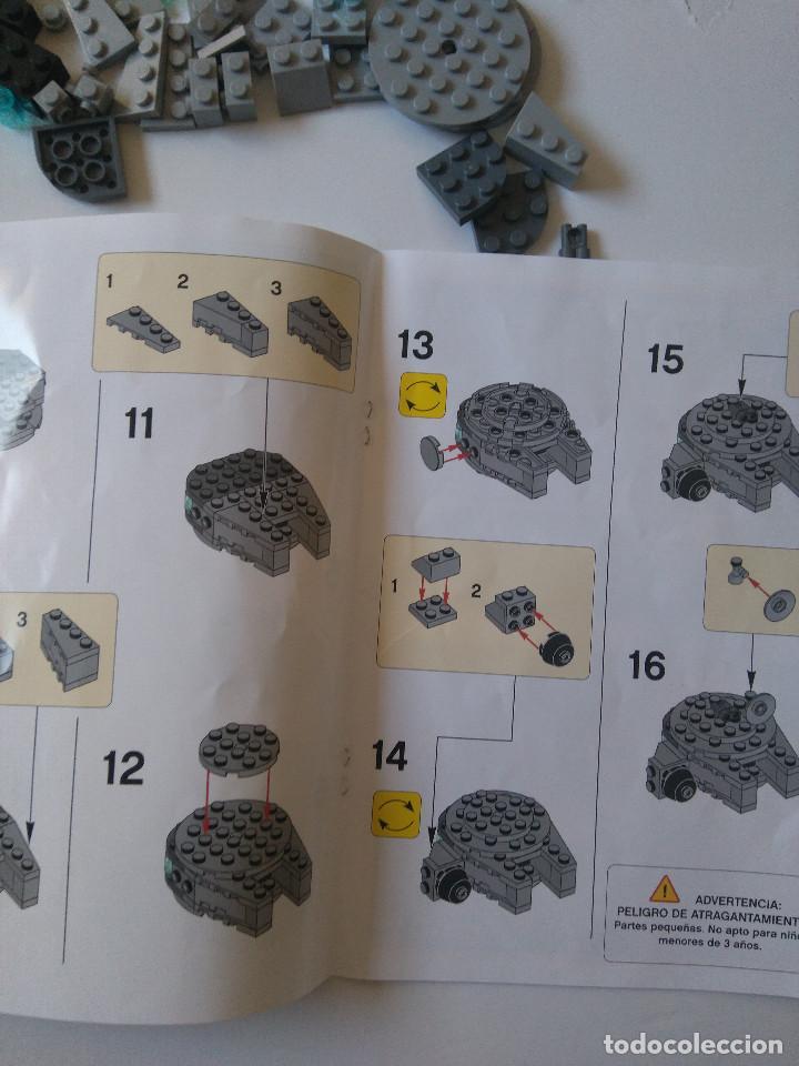 Juegos construcción - Lego: Star Wars Lego Halcon Milenario Toys R Us Exclusivo limitado millenium falcon 44 piezas promocional - Foto 6 - 194589481