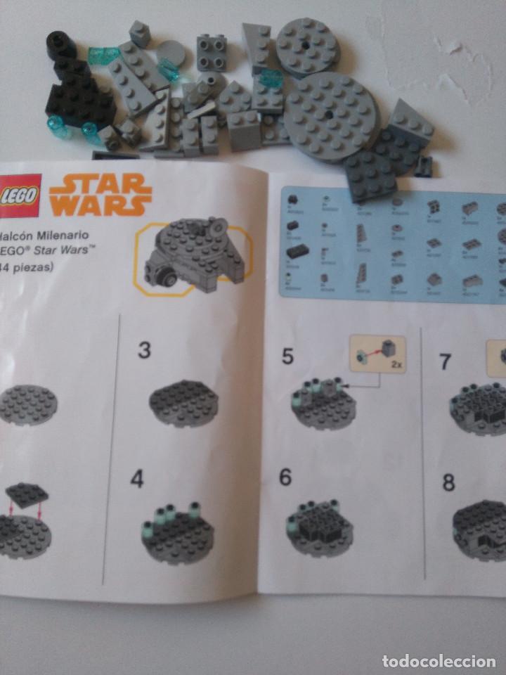 Juegos construcción - Lego: Star Wars Lego Halcon Milenario Toys R Us Exclusivo limitado millenium falcon 44 piezas promocional - Foto 7 - 194589481