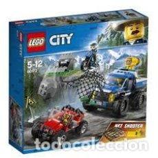 Juegos construcción - Lego: LEGO CITY POLICE - CAZA EN LA CARRETERA 60172. Lote 194650905