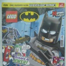 Juegos construcción - Lego: REVISTA LEGO BATMAN, Nº 1 .......... LA REVISTA SOLO, SIN LA FIGURA. Lote 194696196