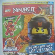 Juegos construcción - Lego: REVISTA LEGO NINJAGO,Nº 20 ......... SOLO LA REVSITA , SIN LA FIGURA. Lote 194698051