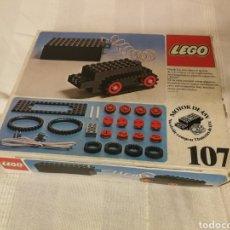 Juegos construcción - Lego: KIT 107 DE LEGO. BASE CON MOTOR. Lote 195001712