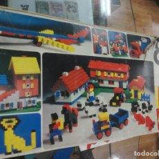 Juegos construcción - Lego: RAR0 ANTIGUA CAJA LEGO 8 AÑOS 70 -- COMO SE VE. Lote 195223985