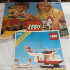 Juegos construcción - Lego: CATALOGO LEGO AÑO 1985 + INTRUCCIONES PARA HELICOPTERO LEGOLAND REF.6691. Lote 195339453