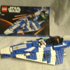 Juegos construcción - Lego: NAVE STAR WARS DE LEGO 6093, COMPLETA, INCLUYO MANUAL, SIN CAJA. Lote 195604872