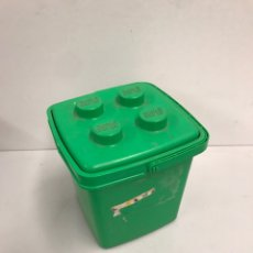 Juegos construcción - Lego: ESTUCHE + PIEZAS DE LEGOS. Lote 195994715