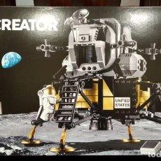 Juegos construcción - Lego: NASA APOLLO 11 LUNAR LANDER 10266 -LEGO CREATOR- NUEVO, PRECINTADO. Lote 196565332