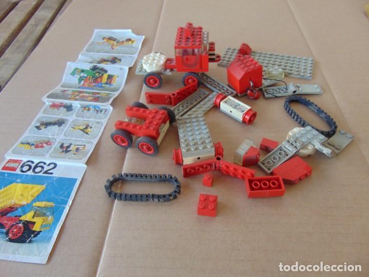 LOTE DE PIEZAS DE LEGO CAMIONES VEHICULOS (Juguetes - Construcción - Lego)
