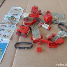 Juegos construcción - Lego: LOTE DE PIEZAS DE LEGO CAMIONES VEHICULOS. Lote 196651951