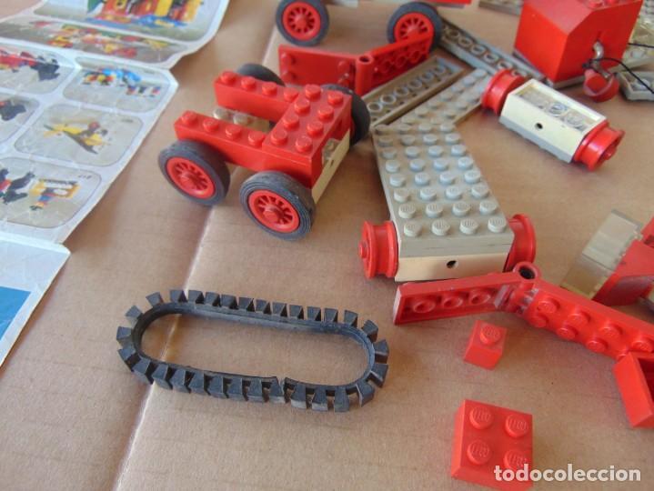 Juegos construcción - Lego: LOTE DE PIEZAS DE LEGO CAMIONES VEHICULOS - Foto 3 - 196651951