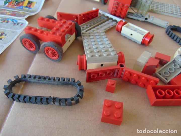 Juegos construcción - Lego: LOTE DE PIEZAS DE LEGO CAMIONES VEHICULOS - Foto 7 - 196651951
