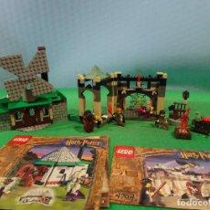 Juegos construcción - Lego: LEGO-4852-HARRY POTTER+FIGURAS ORIGINALES-INSTRUCCIONES. Lote 196978190