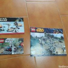 Juegos construcción - Lego: INSTRUCCIONES DE MONTAJE LEGO STAR WARS. Lote 197815328