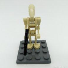 Juegos construcción - Lego: BATTLE DROID, DROIDE DE BATALLA, STAR WARS, LEGO ORIGINAL. Lote 198215450