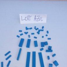 Juegos construcción - Lego: LOTE LEGO AZUL AZULES LO Q SE VE EN LA FOTOGRAFÍA. Lote 198560332
