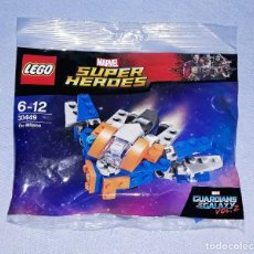 Juegos construcción - Lego: BOLSA LEGO REFERENCIA 30449 SERIE MARVEL NUEVO A ESTRENAR ORIGINAL. Lote 198641101