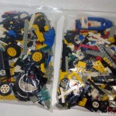 Juegos construcción - Lego: DESPIEZE LEGO ESCABADORA I MAS 1,300 GRAMOS. Lote 198642796