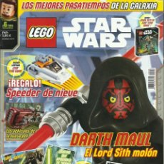 Juegos construcción - Lego: REVISTA LEGO STAR WARS Nº 6 AÑO 2015 CON PÓSTERS. Lote 199045330