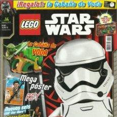 Juegos construcción - Lego: REVISTA LEGO STAR WARS Nº 14 AÑO 2016 CON PÓSTERS. Lote 199045715