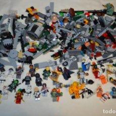 Juegos construcción - Lego: GRAN LOTE DE LEGO - STAR WARS Y OTROS - MUCHAS FIGURAS, NAVES, OTRAS PIEZAS Y ACCESORIOS - ¡MIRA!. Lote 199147352