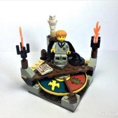 Juegos construcción - Lego: LEGO HARRY POTTER PIEDRA DE BRUJO SORTING HAT REF. 4701. Lote 199361573