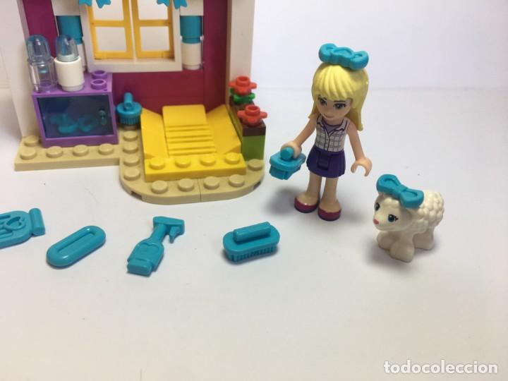 Juegos construcción - Lego: LEGO FRIENDS EL CORDERO RECIEN NACIDO DE STEPHANIE REF. 41029 - Foto 3 - 199365713