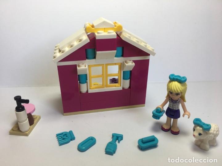 Juegos construcción - Lego: LEGO FRIENDS EL CORDERO RECIEN NACIDO DE STEPHANIE REF. 41029 - Foto 5 - 199365713