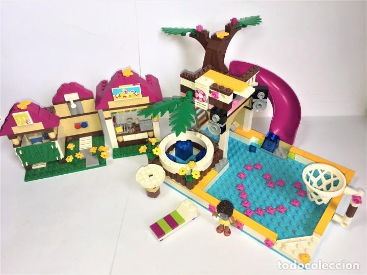 LEGO FRIENDS PISCINA DE LA CIUDAD DE HEARTLAKE REF. 41006 (Juguetes - Construcción - Lego)