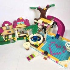 Juegos construcción - Lego: LEGO FRIENDS PISCINA DE LA CIUDAD DE HEARTLAKE REF. 41006. Lote 199368711