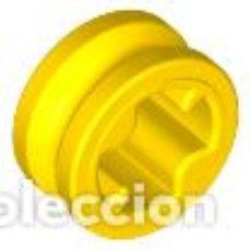 Juegos construcción - Lego: LEGO 4265C AMARILLO TECHNIC, BUSH 1/2 LISO X10 PIEZAS. Lote 221966235