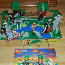 Juegos construcción - Lego: LEGO PIRATAS 6278 ,AÑO 1992 CON INSTRUCCIONES (SOLO FALTAN 3 PIEZAS EN ULTIMA FOTO )-STAR WARS-TENTE. Lote 202245485