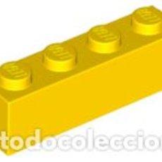 Juegos construcción - Lego: LEGO 3010 LADRILLO 1 X 4 AMARILLO CJN1. Lote 210935604