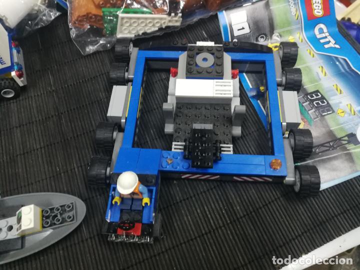 Juegos construcción - Lego: LEGO CITY 60080 TRANSBORDADOR ESTACION ESPACIAL Y TRAILER POLICIA - Foto 4 - 203400255