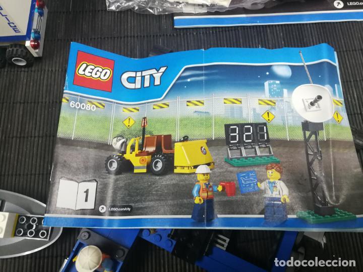 Juegos construcción - Lego: LEGO CITY 60080 TRANSBORDADOR ESTACION ESPACIAL Y TRAILER POLICIA - Foto 11 - 203400255