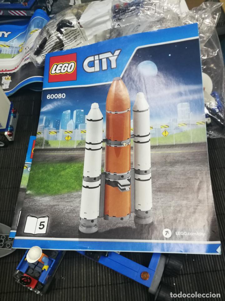 Juegos construcción - Lego: LEGO CITY 60080 TRANSBORDADOR ESTACION ESPACIAL Y TRAILER POLICIA - Foto 12 - 203400255
