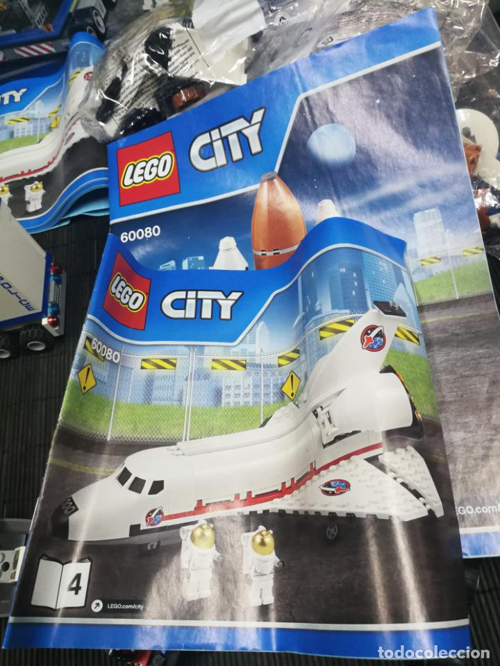 Juegos construcción - Lego: LEGO CITY 60080 TRANSBORDADOR ESTACION ESPACIAL Y TRAILER POLICIA - Foto 13 - 203400255