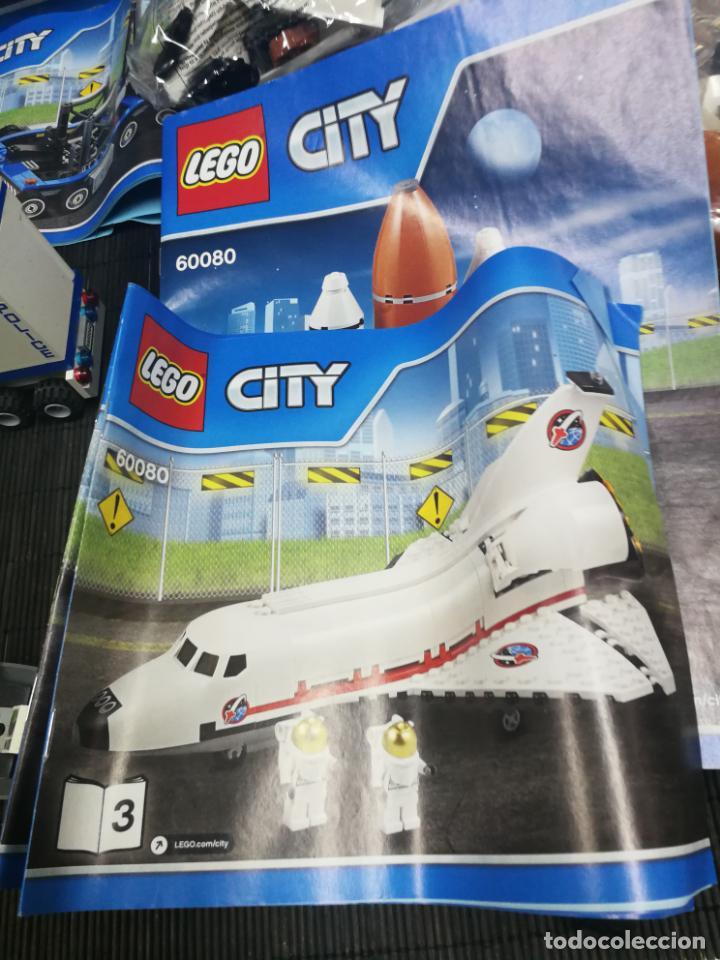 Juegos construcción - Lego: LEGO CITY 60080 TRANSBORDADOR ESTACION ESPACIAL Y TRAILER POLICIA - Foto 14 - 203400255
