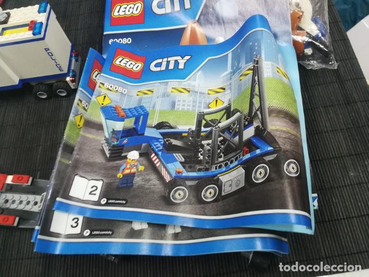 Juegos construcción - Lego: LEGO CITY 60080 TRANSBORDADOR ESTACION ESPACIAL Y TRAILER POLICIA - Foto 15 - 203400255