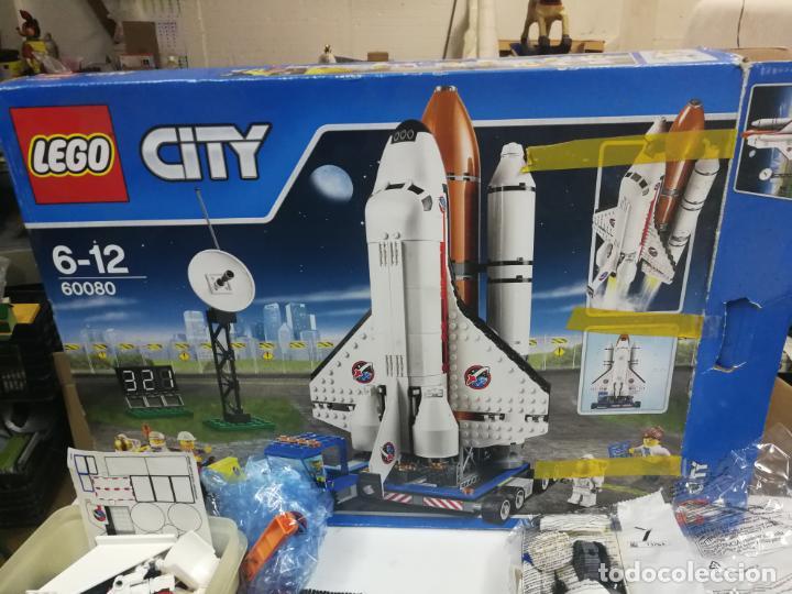 Juegos construcción - Lego: LEGO CITY 60080 TRANSBORDADOR ESTACION ESPACIAL Y TRAILER POLICIA - Foto 19 - 203400255