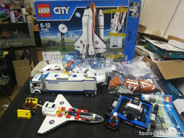 LEGO CITY 60080 TRANSBORDADOR ESTACION ESPACIAL Y TRAILER POLICIA (Juguetes - Construcción - Lego)