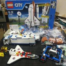 Juegos construcción - Lego: LEGO CITY 60080 TRANSBORDADOR ESTACION ESPACIAL Y TRAILER POLICIA. Lote 203400255