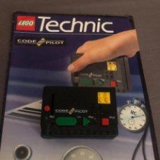 Juegos construcción - Lego: LEGO TECHNIC MODULO CODE PILOT CON MANUAL DE INSTRUCCIONES. Lote 203794163