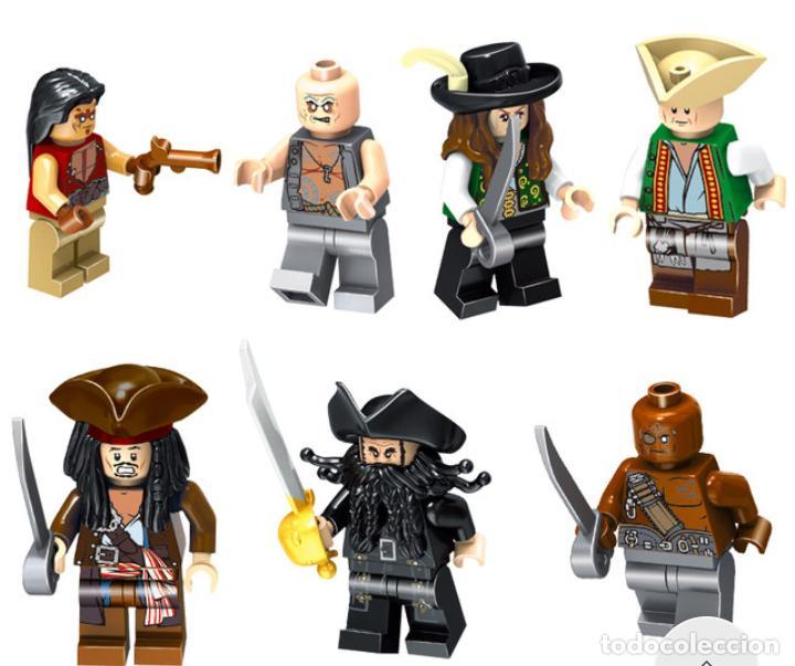 Piratas Del Caribe Barco La Venganza De La Rei Comprar Juegos Construcción Lego Antiguos En Todocoleccion 204130650