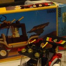 Juegos construcción - Lego: LEGO CAMIÓN ESPACIAL REF 6669, AÑO 1991, CON CAJA E INSTRUCCIONES. Lote 204616506