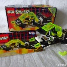 Juegos construcción - Lego: LEGO SYSTEM NAVE ESPACIAL BLACK TRON REF 6832, AÑO 1991, CON CAJA E INSTRUCCIONES. Lote 204616998