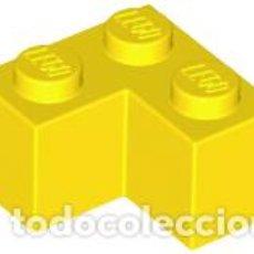 Juegos construcción - Lego: LEGO 2357 LADRILLO AMARILLO 2 X 2 ESQUINA CJN3. Lote 214178757