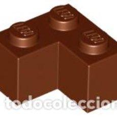 Juegos construcción - Lego: LEGO 2357 LADRILLO MARRON ROJIZO 2 X 2 ESQUINA CJN3. Lote 214178785