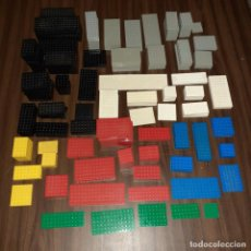 Juegos construcción - Lego: LOTE LEGO LEGOLAND ASTRO ESPACIO PIEZAS AÑOS 80 90 - 321 PLACAS BASES VARIADAS ORIGINALES LOTAZO. Lote 205007296