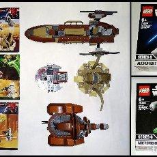 Juegos construcción - Lego: LOTE LEGO STAR WARS - 9496 - 75000 - 9491 Y MICROFIGHTERS (NUEVOS) 75224 - 75223. VER DESCRIPCIÓN.. Lote 205535386
